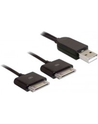 Cable USB a 2 Clavijas 30 Pines de Apple