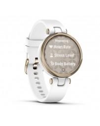 Smartwatch Garmin Lily Sport Blanco/Dorado con Correa Blanca