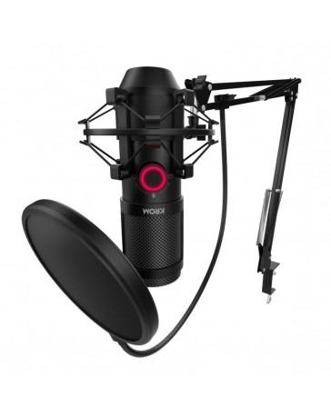 Micrófono Streaming Krom Kapsule Kit