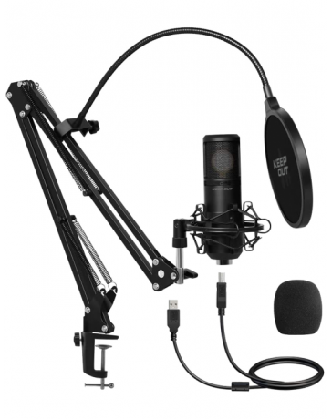 Micrófono Streaming Keep Out Kit