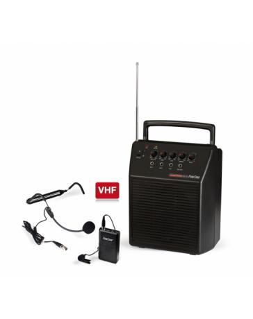 Altavoz Amplificado con Micro de Solapa Fonestar