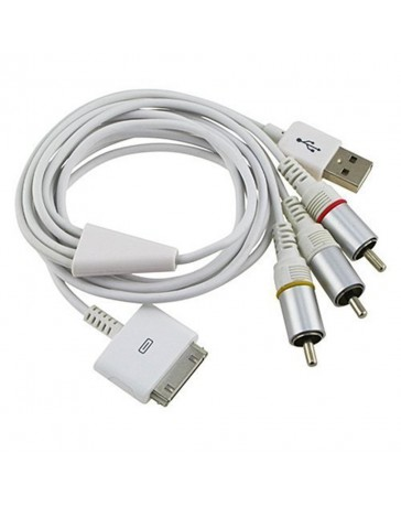 Cable AV + USB iPad 2