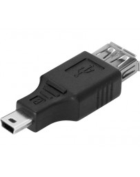 Adaptador Mini USB - USB H (OTG)