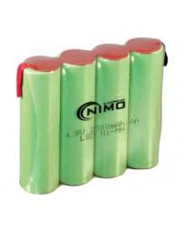 Pack de Baterías 4,8V/2300mAh NI-MH AAX4