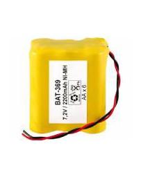 Pack de Baterías 7,2V/2500mAh NI-MH