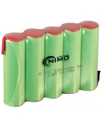 Pack de Baterías 6V/2300mAh NI-MH