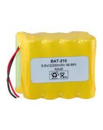 Pack de Baterías 9,6V/2500mAh NI-MH