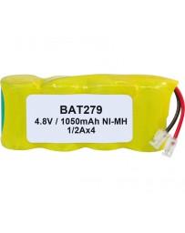 Pack de Baterías 4,8V/1050mAh NI-MH