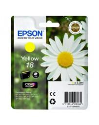 Tinta Epson 18 Amarillo