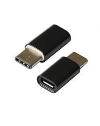 Adaptador Micro USB hembra - USB C macho 3.1