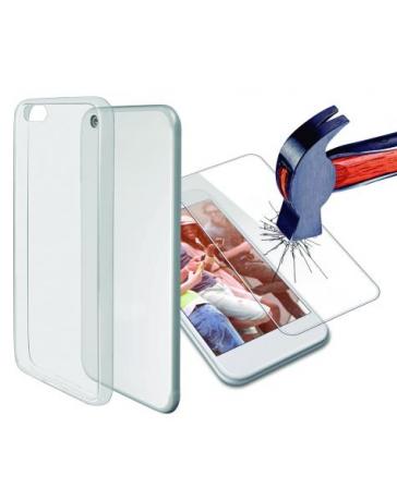 Funda Fusión+Protector Vidrio Samsung Galaxy J5