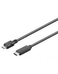 Cable USB-C 3.1 macho-macho micro USB-B 2.0