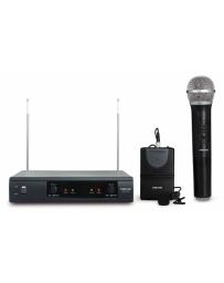 Micrófonos Inalámbrico Fonestar doble (1 de mando+1 de solapa)