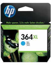 Tinta HP 364XL Cian
