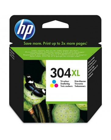 Tinta HP 304XL Color
