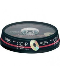 Tarrina CD x10 TDK