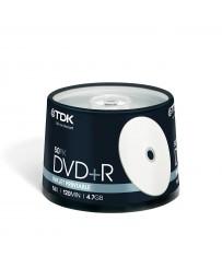 Tarrina DVD +R x50 TDK
