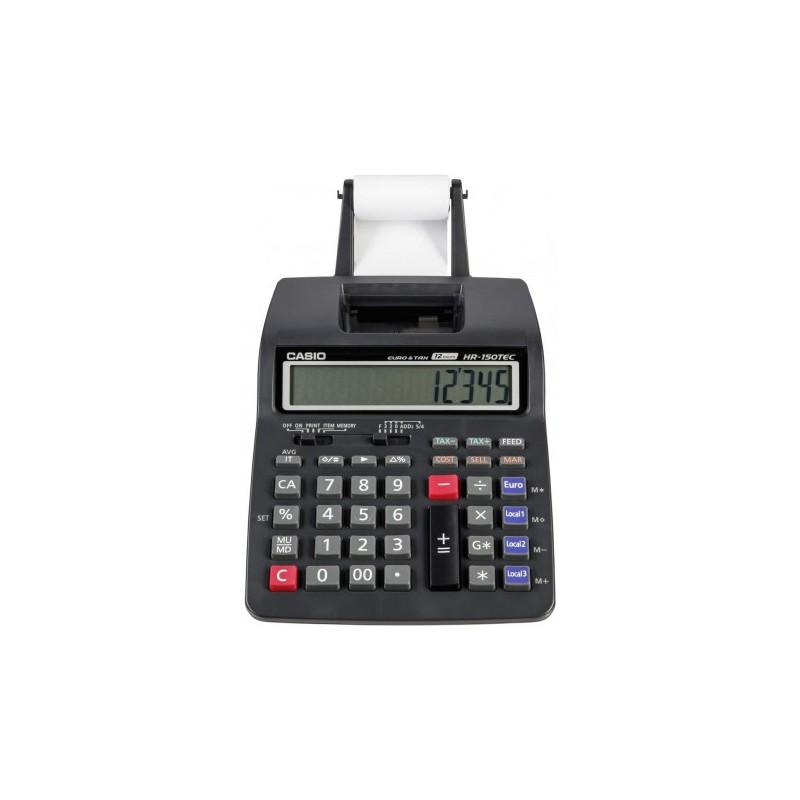 calculadora casio papel 12 d gitos calculadora casio con papel hr 150tec. Black Bedroom Furniture Sets. Home Design Ideas