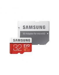 MicroSDHC EVO Plus 32GB Clase 10 + Adaptador Samsung