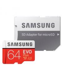 MicroSDXC EVO Plus 64GB Clase 10 + Adaptador Samsung