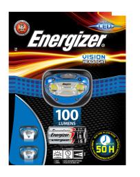 Linterna de Cabeza Energizer Vision Headlight