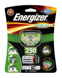 Linterna Energizer Vision HD+ Headlight