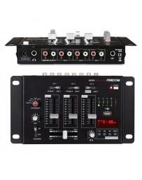 Mezclador 3 canales + micro con reproductor USB Fonestar