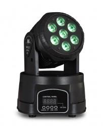 Cabeza móvil LED DMX con 7 LED RGBW Fonestar