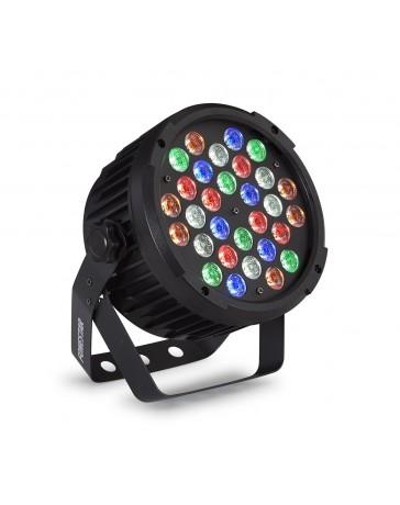 Foco PAR DMX con 30 LED RGBWA Fonestar