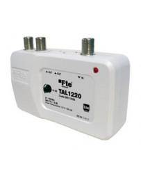 Amplificador Interior de Vivienda 20dB y 2 Salidas