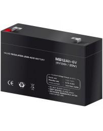Batería de Plomo 12V -6Ah