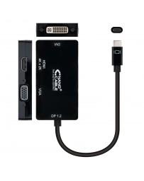 Conversor USB-C a SVGA / DVI / HDMI