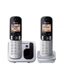 Teléfono Inalámbrico Panasonic Dúo KX-TGC212