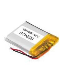 Batería Recargable Litio-Polímero 3,7V 300mAH