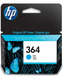 Tinta HP 364 Cian