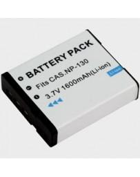 Batería de cámara para Casio NP130