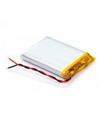 Batería Recargable Li-Polímero 3,7V - 1100mAH