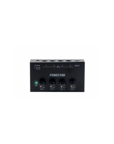 Conmutador / Amplificador de Auriculares