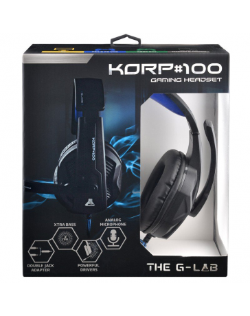 Auriculares Gaming The G-Lab Korp 100