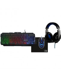 Pack Gaming The G-Lab Combo Argon Teclado+Ratón+Auriculares+Alfombrilla
