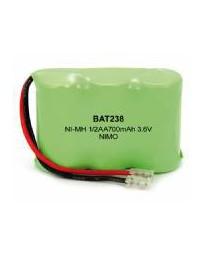 Bateria Recargable 1/2AAx3