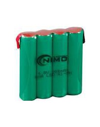 Pack de Baterías 4,8V/900mAh NI-MH AAAX4