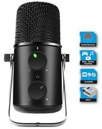 Micrófono de Condensador Profesional + Cardoide Unidireccional