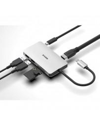 Dock 6 en 1 D-Link Lector SD/MicroSD/HDMI 4K/USB-C/USB 3.0