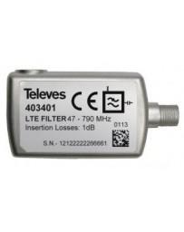 Filtro LTE F 5...790 MHz selectivo Interior