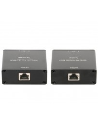 Extensor de Audio Estéreo hasta 1000mtrs. por Cable UTP CAT5E/6