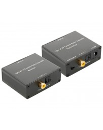 Extensor de Audio Optico o Digital por Cable UTP CAT5E/6 150mtrs.