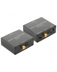 Extensor de Audio Optico o Digital por Cable UTP CAT5E/6 150mtrs.